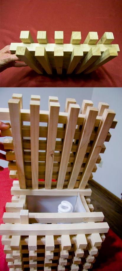 Поделки из деревянных брусков 1