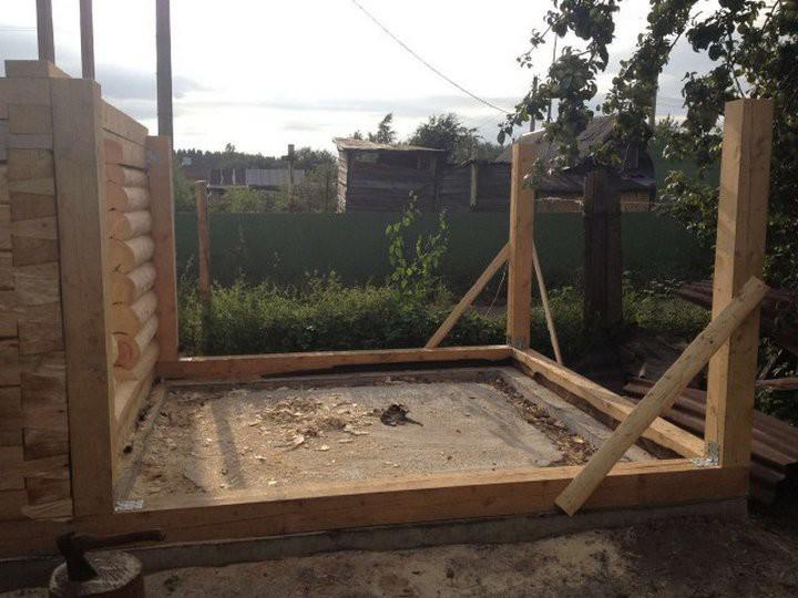 Строительство бани своими руками баня, дача, своими руками, строительство