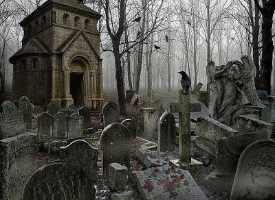 А на кладбище неспокойно…