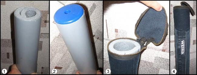 Тубус для спиннинга своими руками из канализационной трубы 40
