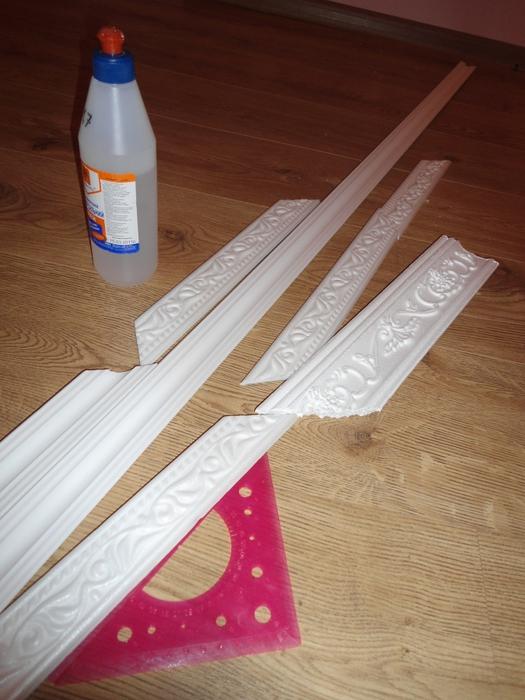 Рамки из багетов своими руками фото