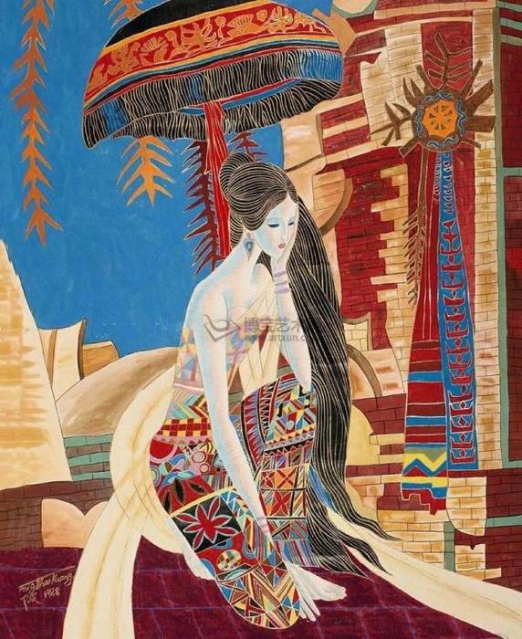 Девушка медитации фигуры (572x700, 520Kb)