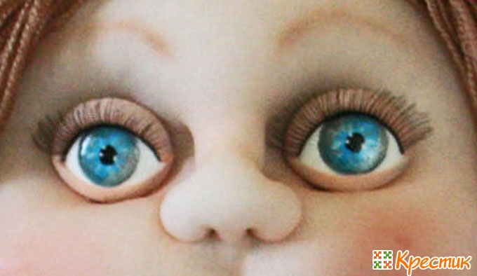 Как вставить глаза на
