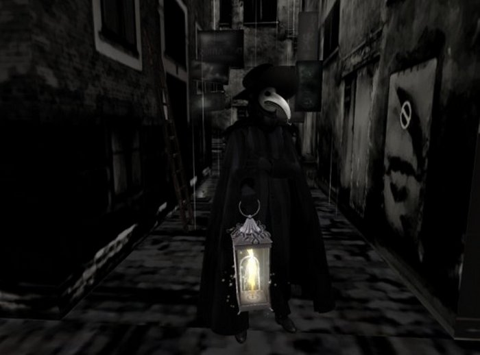 Кошмар из средневековья — чумной доктор