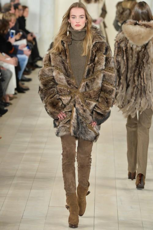 осень-зима 2015-2016, NYFW, knitwear, Неделя моды, вязана мода, кэмел, вязаная водолазка (фото 11)