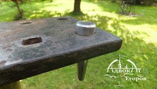 Самодельная наковальня. Защита древесины от влаги и гниения