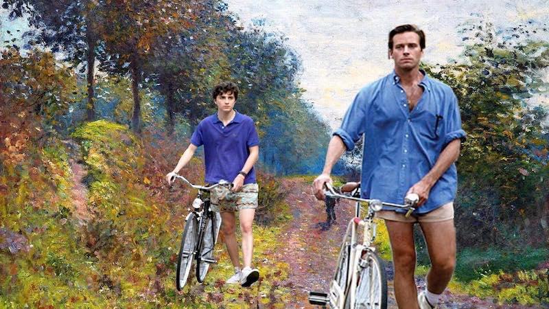 Искусство повсюду: кадры нового фильма «Зови меня своим именем» перенесли на полотна Клода Моне