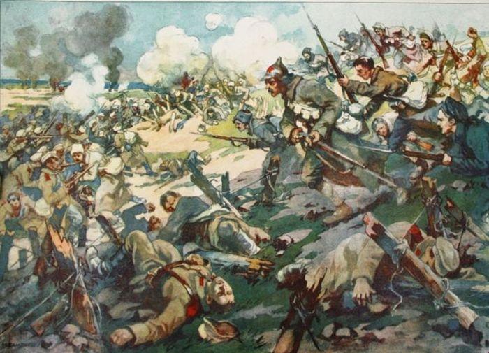 Чем гражданская война 1917-23 г. г. в России отличалась от нынешней гражданской войны на Украине?
