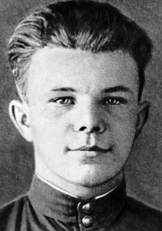 15 летний Юрий Гагарин, 1949 дети, известность, история, фото