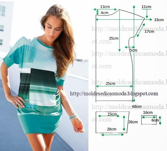 Пошив летнего женского платья своими руками