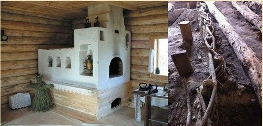 Тайны бабушкиного дома — как в старину делали теплый пол