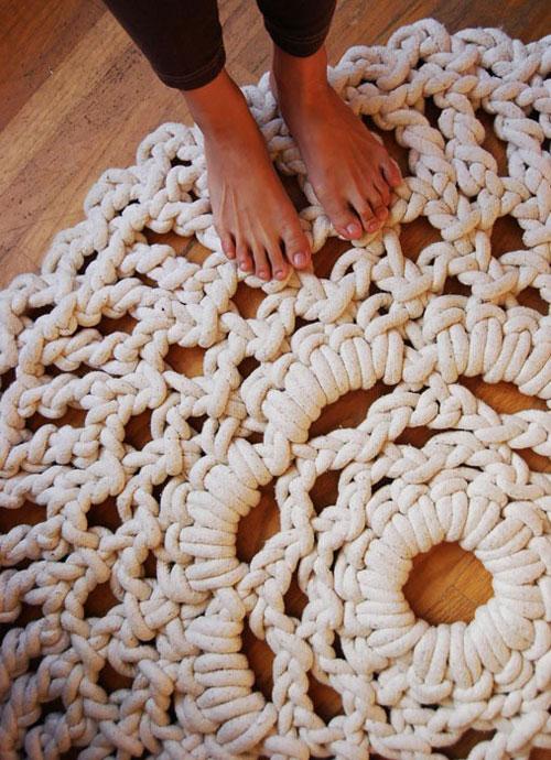 Из шнура для дома своими руками