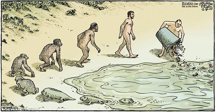 15+ Satirical Evolution Cartoons To Celebrate Darwin Day