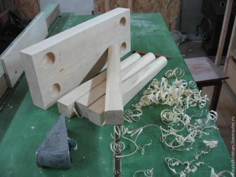 деревянная