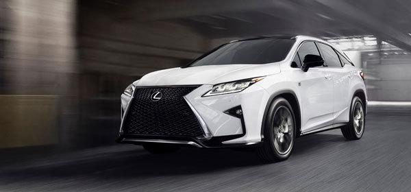 Lexus назвал российские цены на новый RX
