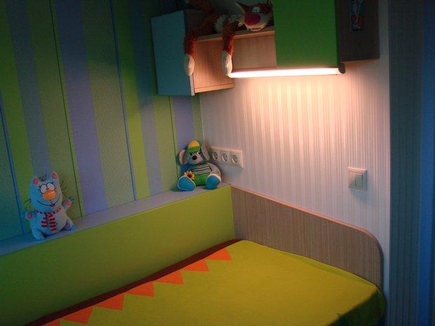 Лоджию превратили в детскую комнату