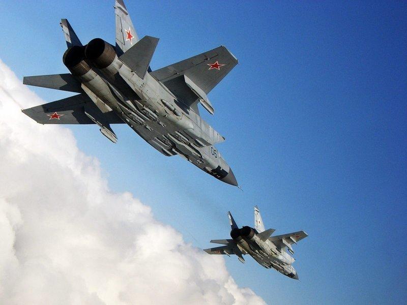 Новый МиГ-31БМ разогнали до 3400 км/ч