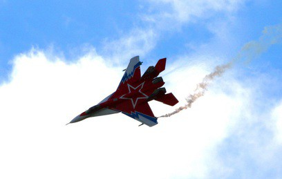 Пилоты упавшего в Астраханской области МиГ-29 найдены