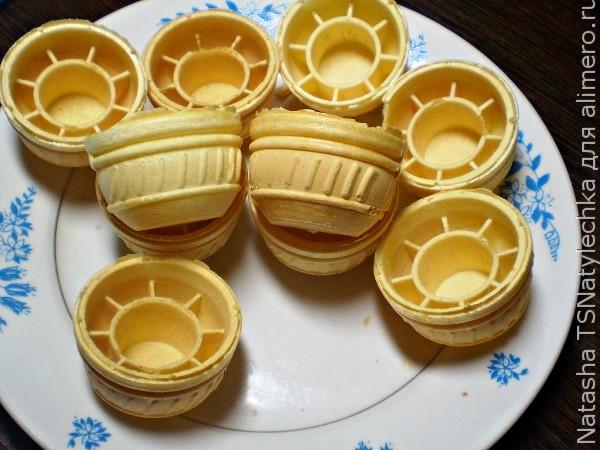 Закуски из вафельных тарталеток рецепты простые