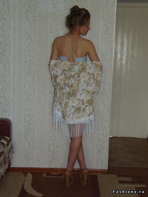 Платье - комбинация своими руками