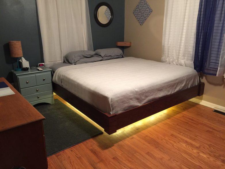 Парящую кровать своими руками