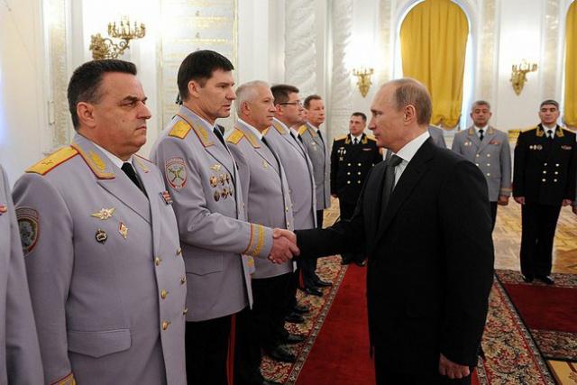 Путин: продолжаются попытки нарушить баланс в мире