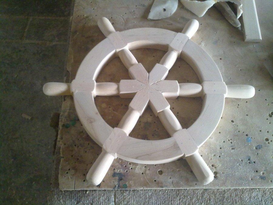 Штурвал корабля как сделать