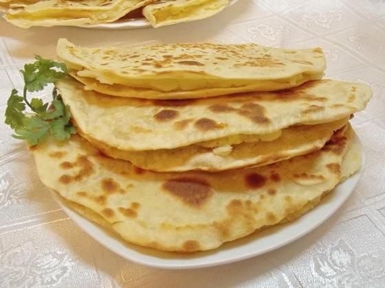 Татарский кыстыбый с картошкой рецепт с фото
