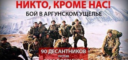 16 лет подвигу псковских десантников...