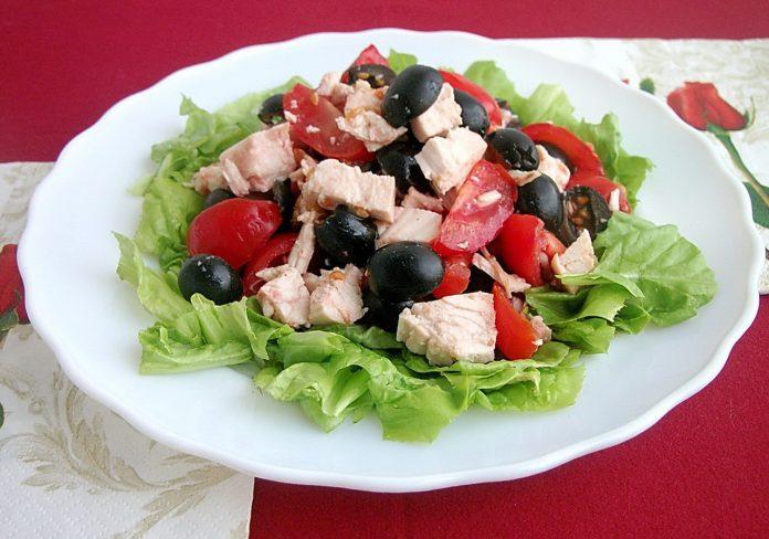 Салат «Отличный»: минимум компонентов и максимум вкуса
