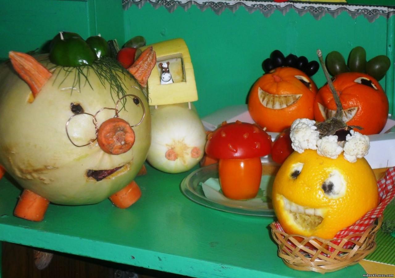 Как обработать овощи для поделки 570