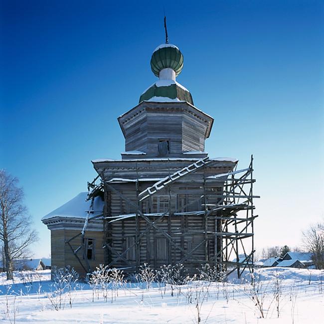 Деревянные церкви Русского Севера архитектура, россия, церкви