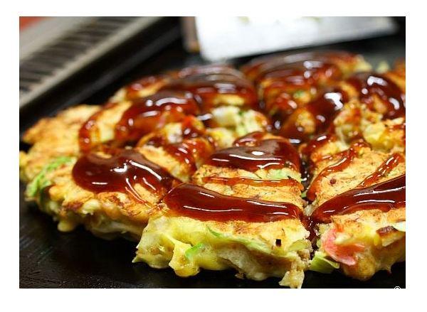 "Японская пицца ""Окономияки"" - обязательно загляните в рецепт!"
