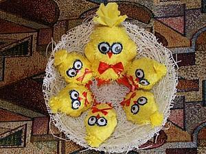 Делаем пасхальный сувенир малышам на потеху | Ярмарка Мастеров - ручная работа, handmade