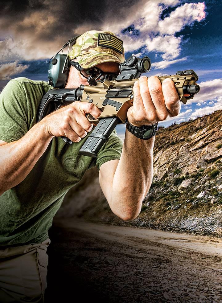 Винтовки и пистолеты семейства CMMG Banshee (США)