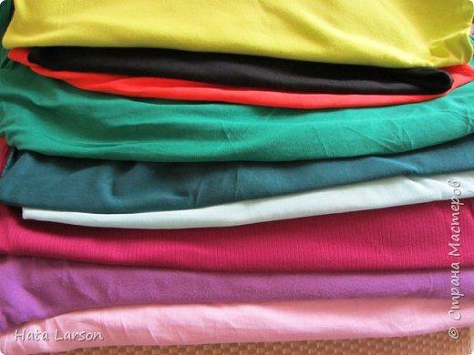 Мастер-класс Поделка изделие Вышивка Вышивание б\у футболками Бисер Канва Нитки Ткань фото 6