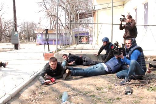 Журналист «Звезды» подорвался на растяжке в Донбассе