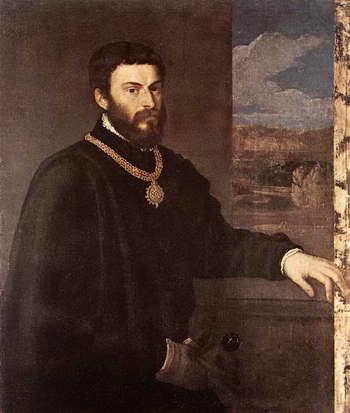 Тициан. Портрет графа Антонио Порчи