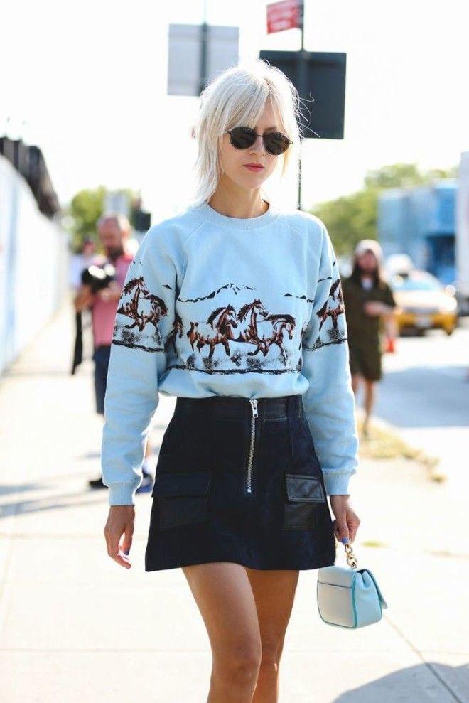Семь юбок которые стильные девушки носят этим летом