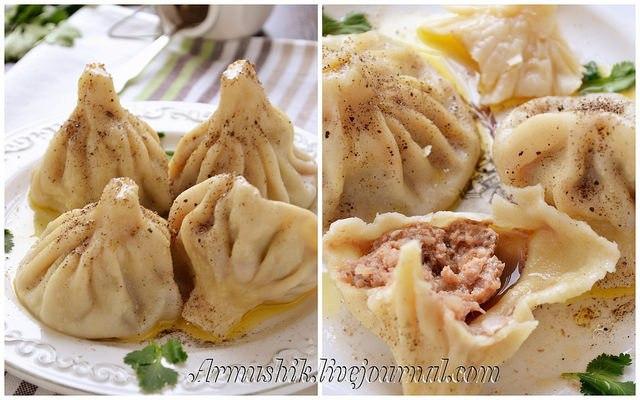 Хинкали — вкуснейшее блюдо грузинской кухни, которое люблю с детства