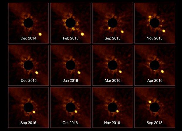 Астрономы показали четырехле…