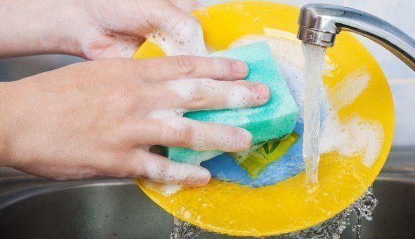Экономия в быту: универсальная паста для мытья посуды