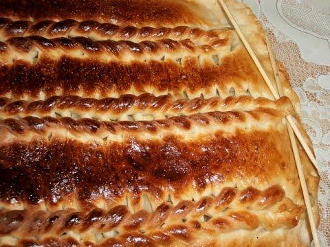 Рецепт домашнего вязаного пирога