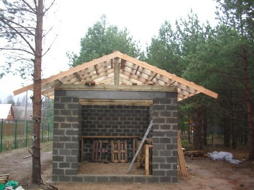 Крыша в гараже фото