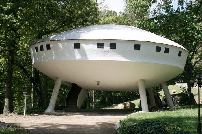 1. Летающая тарелка дом, идея, проект