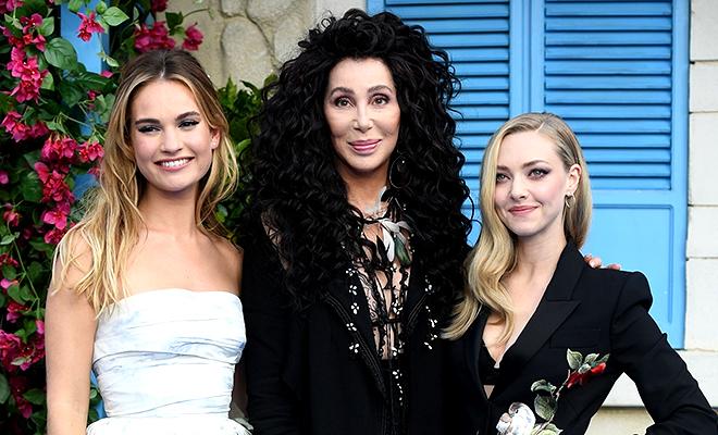 Мерил Стрип, Колин Ферт, Шер и другие на мировой премьере Mamma Mia! 2