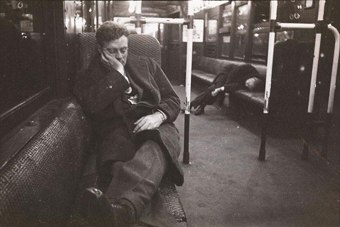 Нью-Йорк второй половины 1940-х фотографа Стэнли Кубрика