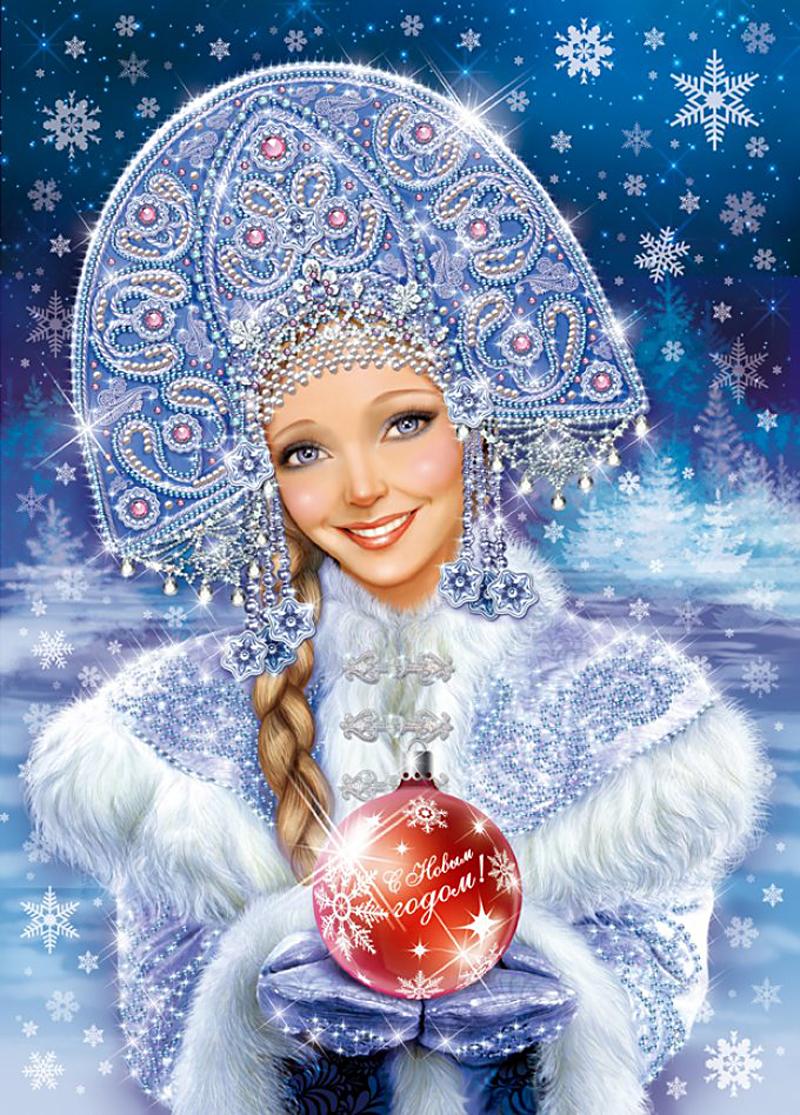 Самая красивая снегурочка фото 11 фотография