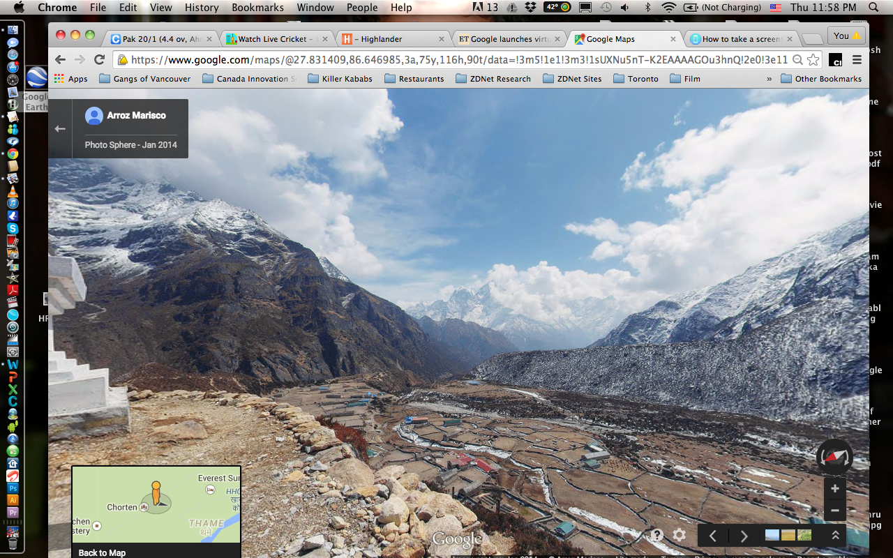 Google Earth ventures 'into thin air'