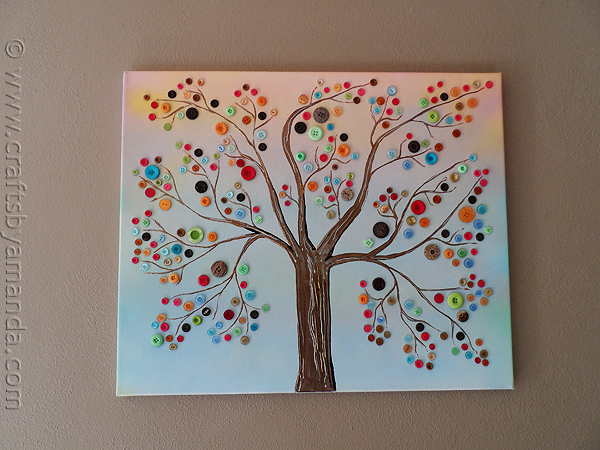 Картины деревьев своими руками